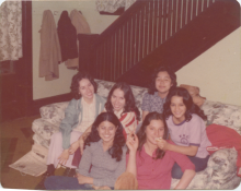 Picture of Chicana Group at Western Michigan University